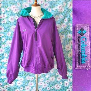 Vintage❄️90s Columbia Fleece Lined Ski Jacket!
